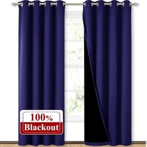 NWT (2) 100% Blackout Curtains